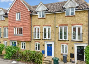 Thumbnail 3 bed town house to rent in Guernsey Way, Kennington, Ashford