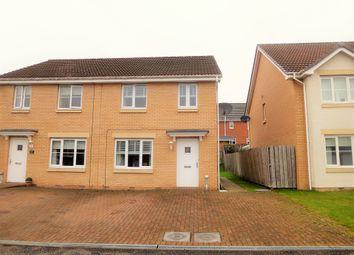 Thumbnail 3 bed semi-detached house for sale in Fyneburn Gardens, Coatbridge