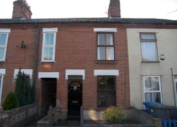 Thumbnail 2 bedroom terraced house to rent in Heath Road, Norwich