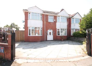 Thumbnail 4 bed semi-detached house to rent in Gairloch Avenue, Stretford, Manchester