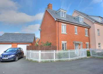 Thumbnail 5 bed semi-detached house for sale in Wisteria Drive, Wymondham