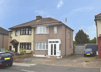 Thumbnail 2 bed semi-detached house for sale in Highfield Road, Collier Row, Romford