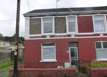 Thumbnail 3 bed end terrace house for sale in Edward Street, Glynneath, Neath