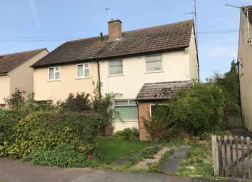 Thumbnail 3 bed semi-detached house for sale in Malletts Road, Cherry Hinton, Cambridge