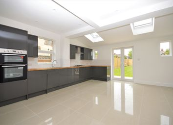 Thumbnail 4 bed semi-detached house for sale in Ashley Avenue, Cheriton, Folkestone