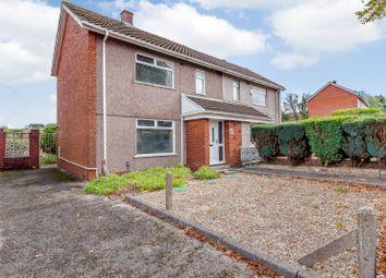 Thumbnail 2 bed semi-detached house for sale in Longview Road, Swansea