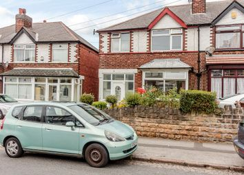Thumbnail 3 bedroom semi-detached house for sale in Chadwick Road, Nottingham