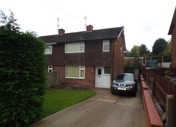 Thumbnail 2 bed semi-detached house for sale in Hawthorne Road, Pinxton, Nottingham, Derbyshire
