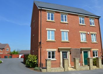 Thumbnail 4 bed town house for sale in Skylark Road, Melksham