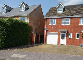 Thumbnail 3 bed semi-detached house for sale in Milnes Way, Carlton Colville, Lowestoft