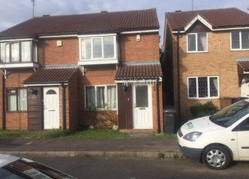 Thumbnail 2 bedroom end terrace house to rent in Coltsfoot Green, Luton