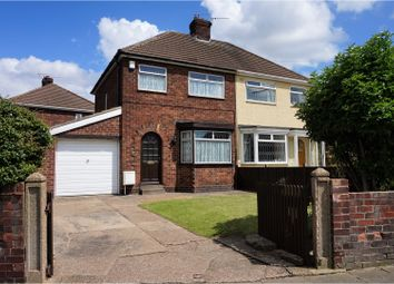 Thumbnail 3 bed semi-detached house for sale in Davenport Drive, Cleethorpes
