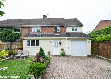 Thumbnail 4 bed semi-detached house for sale in High Street Yelling, St. Neots