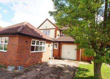 Thumbnail 4 bedroom detached house to rent in Turner Close, Wymondham