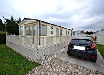 Thumbnail 2 bed mobile/park home for sale in Suffolk Sands Caravan Park, Carr Road, Felixstowe