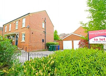Thumbnail 2 bed semi-detached house to rent in Thornton Road, Kendray, Barnsley, South Yorkshire