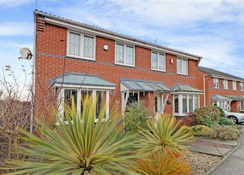 Thumbnail 3 bed semi-detached house for sale in Chatsworth Park Avenue, Hanford, Stoke-On-Trent