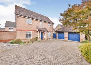Thumbnail 4 bed detached house for sale in Lodge Farm Drive, Old Catton, Norwich