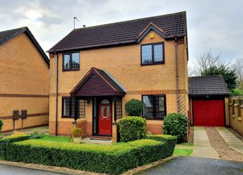 Thumbnail 3 bed detached house to rent in Mountford Close, Oakwood, Derby