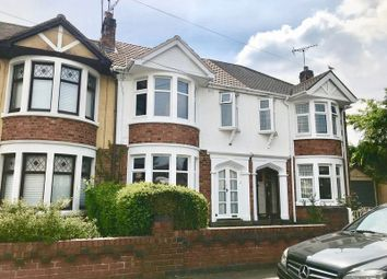 Thumbnail 3 bed terraced house to rent in Heathfield Road, Coventry