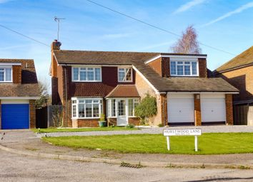 Thumbnail 4 bedroom detached house for sale in Hurstwood Lane, Haywards Heath