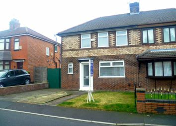 Thumbnail 3 bed semi-detached house to rent in Tellson Crescent, Salford