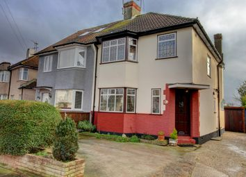 Thumbnail 3 bed semi-detached house for sale in Brendon Way, Westcliff-On-Sea