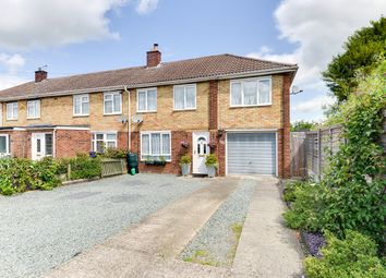 Thumbnail 4 bedroom end terrace house for sale in Elm Walk, Royston