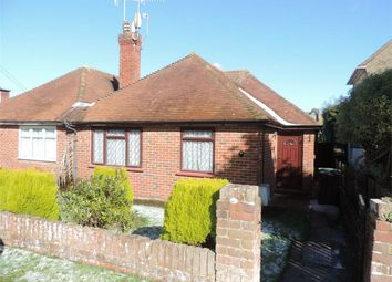 Thumbnail 2 bed semi-detached bungalow for sale in Heatherdune Road, Bexhill On Sea, East Sussex