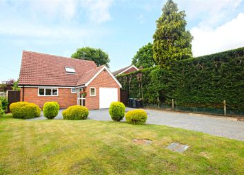 Thumbnail 3 bed detached house for sale in Woodham, Addlestone, Surrey
