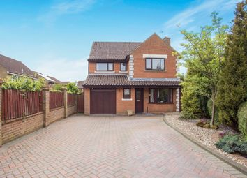 Thumbnail 4 bedroom detached house for sale in Amherst Close, Swaffham