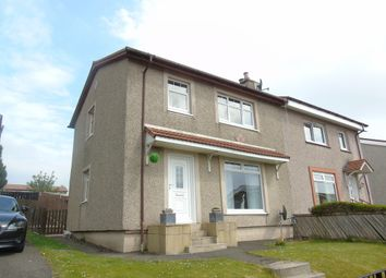 Thumbnail 3 bed semi-detached house for sale in Drumfin Avenue, Caldercruix, Airdrie