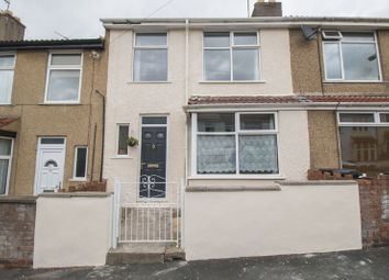 Thumbnail 3 bed terraced house for sale in Alpine Road, Easton, Bristol