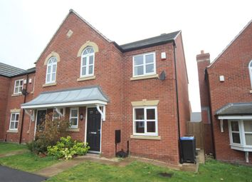 Thumbnail 3 bedroom property to rent in Johnson Close, Hinckley, Leicestershire