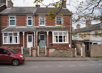 Thumbnail 3 bedroom semi-detached house for sale in Mill Road, Bury St. Edmunds