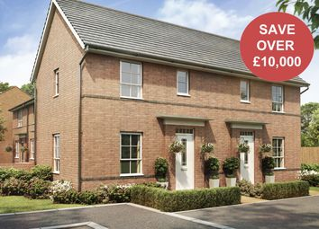 "Thumbnail 2 bed end terrace house for sale in ""Acomb"" at Tournament Court, Edgehill Drive, Chase Meadow Square, Warwick"