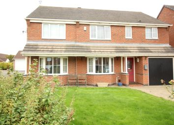 Thumbnail 5 bed detached house for sale in Spruce Court, Worksop