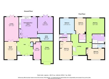 Thumbnail 5 bedroom detached house for sale in Links Drive, Elstree, Borehamwood
