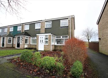 Thumbnail 3 bed terraced house for sale in Wensley Close, Ouston, Chester Le Street