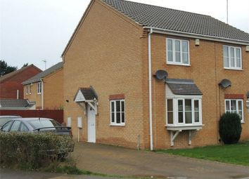 Thumbnail 2 bedroom semi-detached house for sale in Birdbeck Drive, Outwell, Wisbech