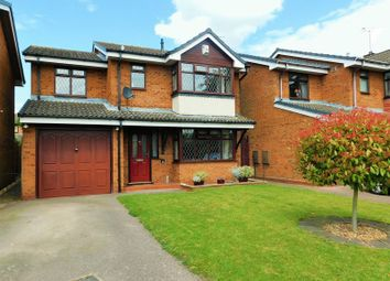 Thumbnail 4 bed detached house for sale in Boyden Close, Penkridge, Stafford