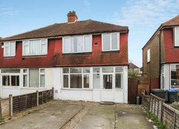 Thumbnail 3 bedroom semi-detached house for sale in Hook Rise South, Tolworth, Surbiton