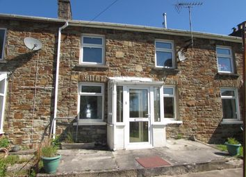Thumbnail 2 bed cottage to rent in Cae Bryn Terrace, Brynmenyn