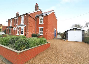 Thumbnail 4 bed semi-detached house for sale in East Lane, Dedham