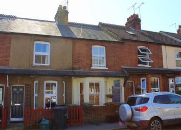 Thumbnail 3 bedroom terraced house to rent in Camp View Road, St Albans, Hertfordshire