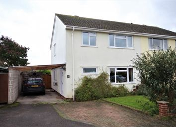 Thumbnail 3 bed semi-detached house for sale in Willow Close, Westonzoyland, Bridgwater