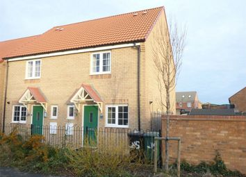 Thumbnail 2 bed semi-detached house for sale in Apollo Avenue, Peterborough, Cambridgeshire