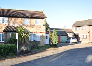 Thumbnail 2 bedroom end terrace house to rent in Thyme Close, Thetford, Norfolk