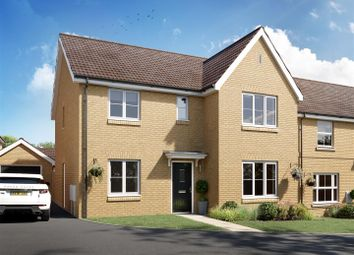 Thumbnail 4 bed detached house for sale in Grafton Drive, Highfields Caldecote, Cambridge