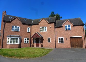 Thumbnail 6 bed detached house to rent in Longlands Lane, Findern, Derby